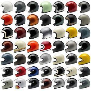 Biltwell Motorcycle Helmet - Bonanza - Gringo - Gringo S - Choose Size & Color