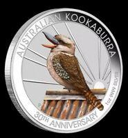 Australien 1 Dollar 2020 - Kookaburra 30. Jubiläum - WMF Berlin - 1 Oz Silber ST