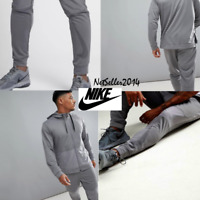 SZ LARGE UNIQUE 🔥🆕 Nike Dri-Fit Men's Training Joggers Pants Tapered Gray $70