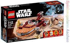 LEGO 75173 Star Wars Luke's Skywalker Landspeeder Ben Kenobi C-3PO Tusken N1/17