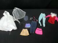 Unbranded Doll Clothes Lot For Barbie Size Dolls