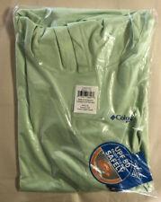 Columbia Mens Terminal Tackle Ls Shirt Hoodie, Key West/Vivid Blue Logo, 3X