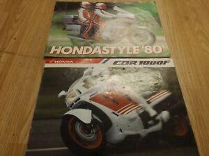 Honda motorcycle Sales brochure