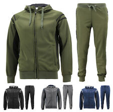 PRIJOUHE Mens Tracksuit Hooded Fitness Sport Suits Gym Hoodie 2 Piece Hoodies Joggers Sweatpants Sets Gym Jogging Tracksuits