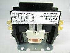 CONTACTOR 40 AMP 2 POLE COIL 208/240 VAC 50/60Hz-A/C & REFRIGERATION EQUIPMENTS