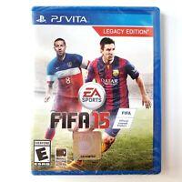 FIFA 15 -- Legacy Edition (Sony PlayStation Vita, 2014) Brand New Factory Sealed