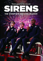 Sirens: The Complete Second Season (Season 2) (2 Disc) DVD NEW