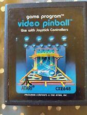 Video Pinball Atari 2600 Game *Cleaned & Tested*