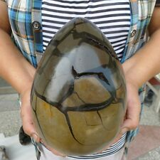 14.6LB Large Dragon Septarian Crystal Sphere Geode Egg Healing Madagascar