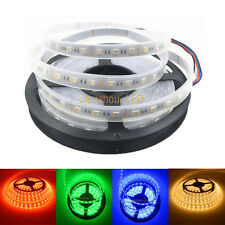 5M 5050 SMD 4 in 1 RGBWW 300 LED Strip Light RGB+Warm White IP67 Waterproof 12V