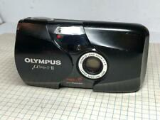 Olympus µ Mju II 35mm f2.8 35mm Point & Shoot Film Camera Black