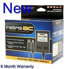 Brand New Power Adapter For The Nintendo NES, Super Nintendo SNES, Or Genesis