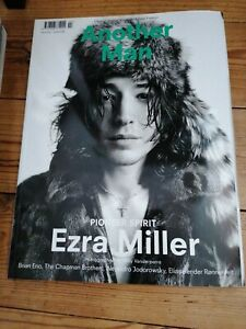 Another Man Magazine Issue 17 Autumn Winter 2013 Ezra Miller