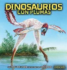 Dinosaurios Con Plumas (Conoce A los Dinosaurios) (Spanish Edition)-ExLibrary