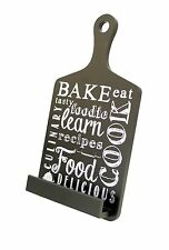 Boston Warehouse Tablet or Cookbook Stand, Bake