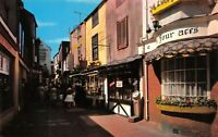 Vintage East Sussex Postcard, The Lanes, Brighton HT7
