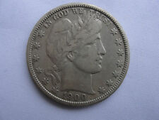 1900-O Liberty Barber Head Half Dollar 50¢ Silver Coin Lot# CH3