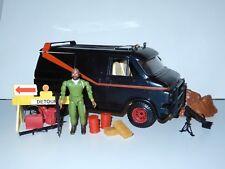"""A-TEAM 3,5"""" TACTICAL VAN COMPLETE w/ BA BARACUS 1983 GALOOB"""