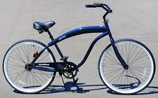 "Fito Modena Sport II 1-speed - Midnight Blue, Men's 26"" Wheel Beach Cruiser Bike"