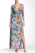 NWT American Twist Retro 70s Era Printed Maxi Dress L $118