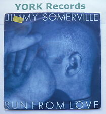 """JIMMY SOMERVILLE - Run From Love - Excellent Condition 7"""" Single London LON 301"""