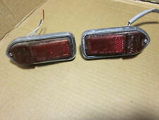 MG REAR SIDE MARKER LIGHT SET RH RIGHT & LH LEFT OEM
