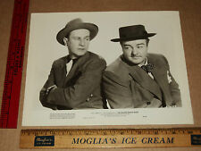 Original VTG 1948 A&C Bud Abbott Lou Costello Noose Hangs High Movie Lobby Photo
