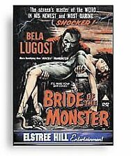 Bride Of The Monster (DVD 2004)  Brand new and sealed dvd