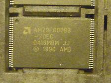 Am29f800bb-70ec 8 Mbits (1 M X 8-bit/512 k x 16-bit) Flash Memory AMD TSOP - 48