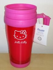 Bicchiere Hello Kitty richiudibile originale Sanrio in plastica rosa pink glass