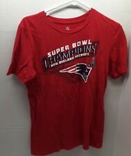 New England Patriots XLIX SUPER BOWL CHAMPS NFL TShirt - Youth Size Large 14/16