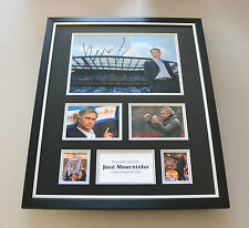 Jose Mourinho Signed Photo Large Framed Chelsea Manager Autograph Display + COA