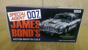 Corgi CC04206S Silver James Bond Thunderball 50th Aston Martin DB5 Ltd Edition