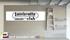 LAMBRETTA WORKSHOP GARAGE Banner appassionati banner, LI125, GP125. GP200, SX200