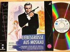 Laserdisc - James Bond 007 - Liebesgrüße aus Moskau - Sean Connery - Lotte Lenya