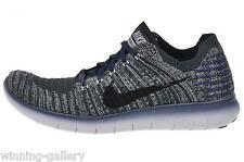 1145b485d9fb83 Nike RN Flyknit Gyakusou Black Navy Grey Running Shoes Sz 11.5