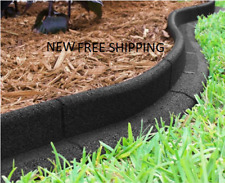 Ecoborder 24 Ft No Dig Landscape Edging Black Free Shipping USA