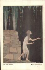 H. Willebeek Le Mair Schumann Children's Pieces THE POOR ORPHAN Postcard