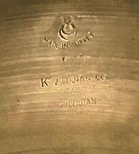 """Vintage K Zildjian 1950s 18"""" crash / ride 1696 grams"""
