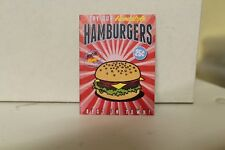 DOLLS HOUSE ( Retro  Metal Sign = Hamburgers