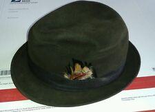 John B.Stetson royal deluxe 100yr anniversary Beaver felt chocolate brown size 7