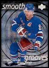 1997-98 Upper Deck Smooth Grooves Brian Leetch #SG22