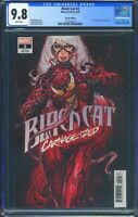Black Cat 2 (Marvel) CGC 9.8 White Pages Carnage-ized Variant