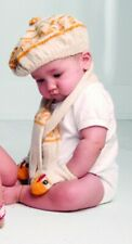 Oeufnyc hat and glove set - chicken RRP £80