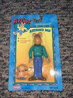 Vintage New In Package 1996 Playskool Arthurs Dad & His Dog Poseable Figures