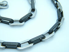 Collar acero inoxidable Griego estilo cadena de eslabones Bisutería COLLAR 01