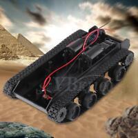 Robot Smart Tank Chassis DIY Kit Car Arduino SCM Light Shock Absorbed 130 Motor