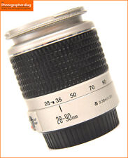 Canon EF Silver 28-90mm F4-5.6 Zoom Lens for EOS SLRs + Free Uk Postage