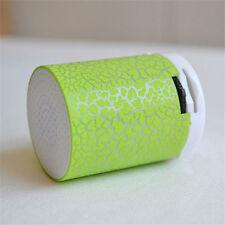 New LED MINI Bluetooth MP3 Speaker TF USB Music Sound Subwoofer Wireless Cute