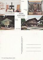 1980's SWISS COTTAGE OSBORNE HOUSE ISLE OF WIGHT UNUSED COLOUR POSTCARD
